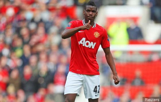 Le transfert de Pogba à Manchester United s'est conclu à 105 millions d'euros plus 5 millions de bonus