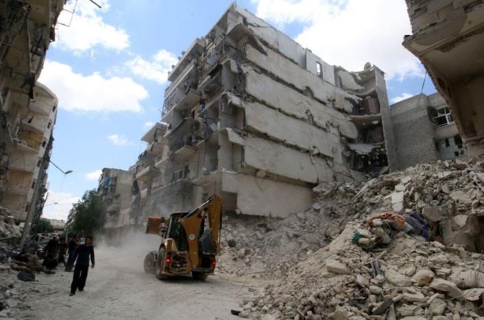 Plus d'un million et demi de citadins pris au piège à Alep