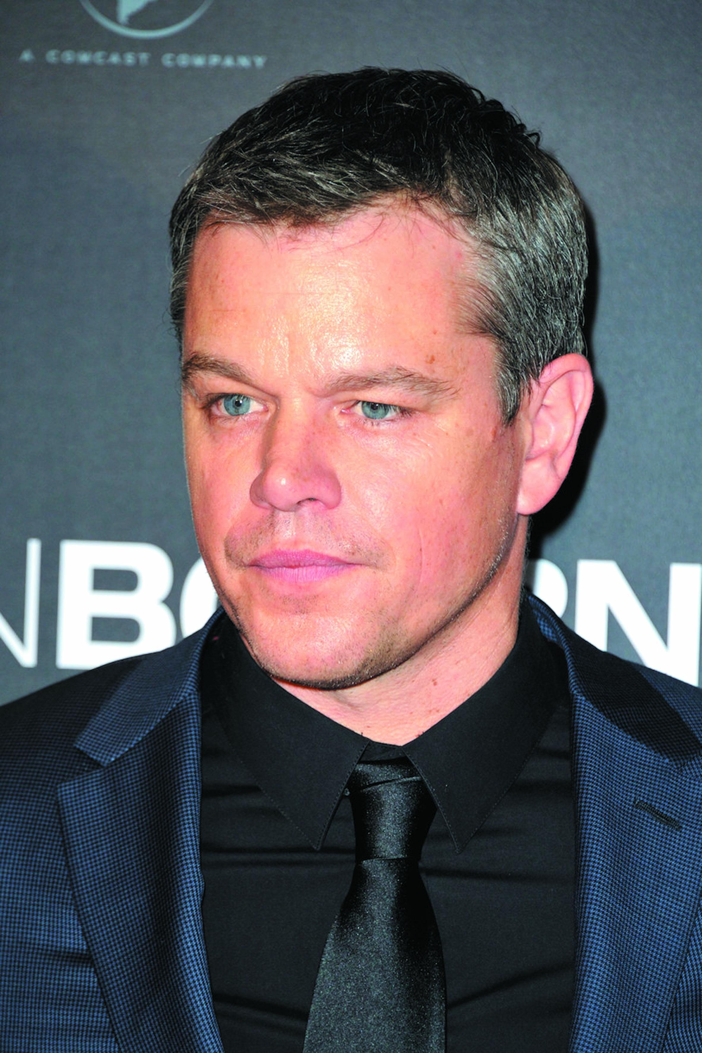 Pseudos de stars pour passer incognito : Matt Damon
