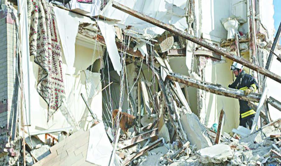 Effondrement d'un immeuble menaçant ruine à Marrakech