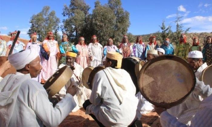 Le groupe Boudar en apothéose au Festival d'Ahouache à Ouarzazate