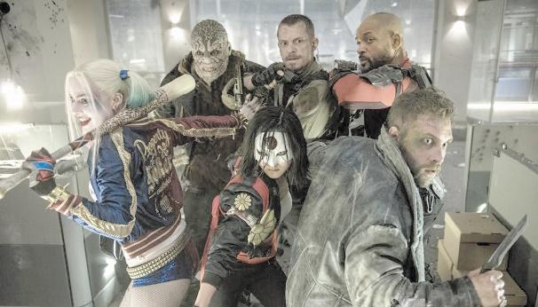 """Les criminels de """"Suicide Squad"""" règnent sur le box-office"""