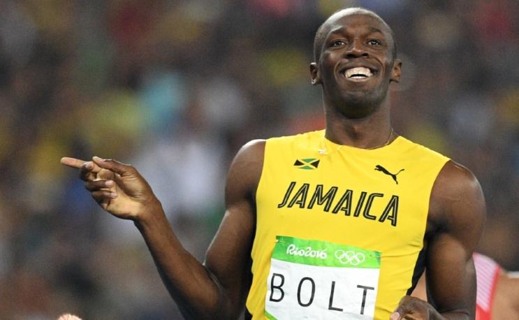Bolt seigneurial sur la piste olympique