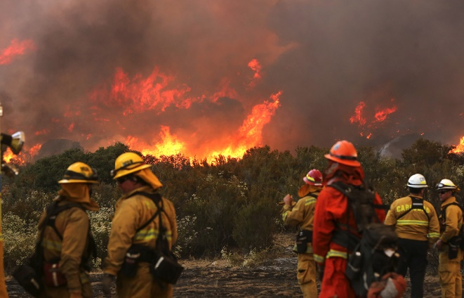 La Californie face à une multiplication d'incendies dantesques