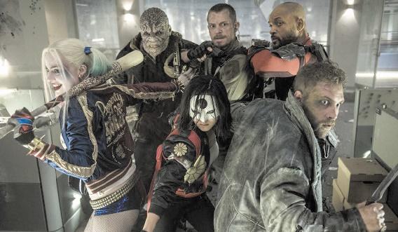 """Les criminels de """"Suicide Squad"""" gardent la tête du box-office"""