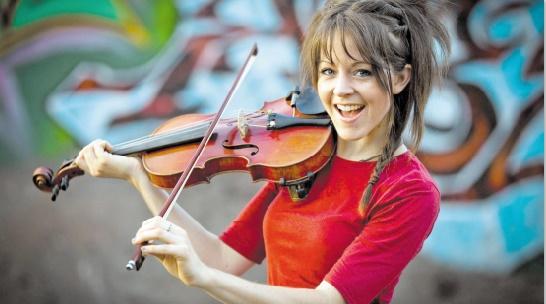 Lindsey Stirling, la violoniste star de YouTube