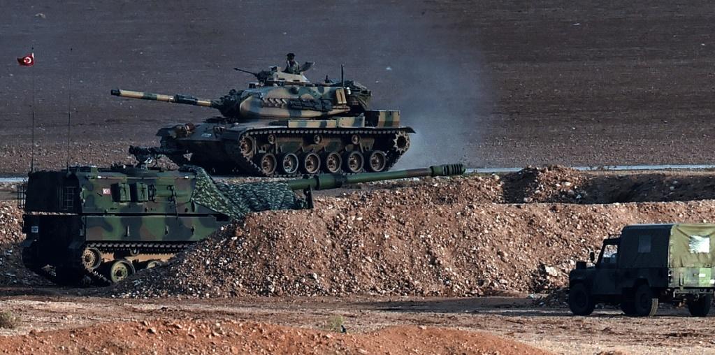 Une dizaine de chars turcs sont entrés en territoire syrien