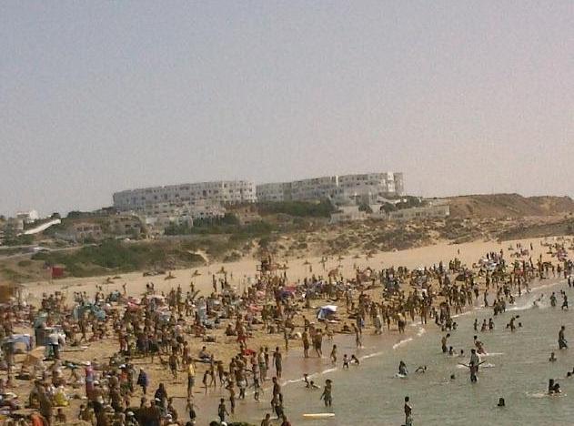 Les plages prises d'assaut
