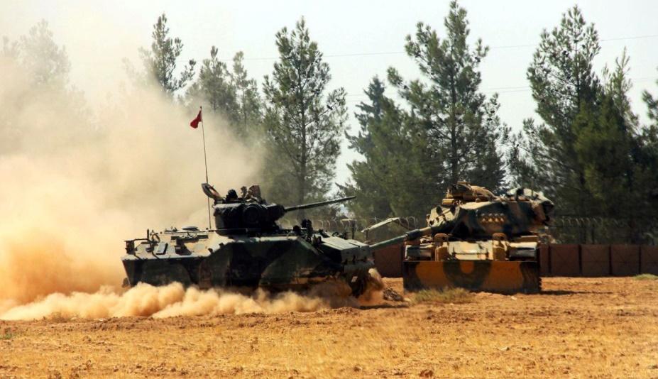 Les rebelles syriens soutenus par la Turquie ont chassé l'EI de Jarablos