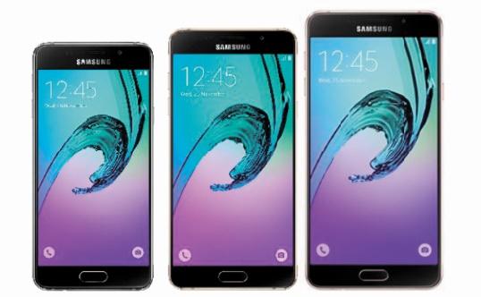 High-tech : Samsung prépare trois nouveaux Galaxy A pour 2017