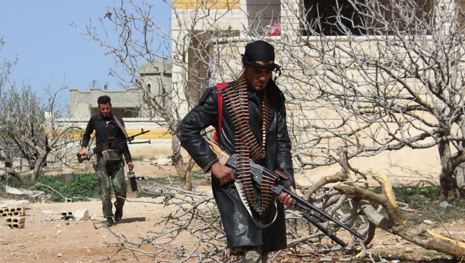 Avancée probante des rebelles dans la province centrale de Hama contrôlée par le régime syrien