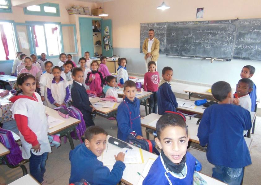 Le Maroc à la traîne en matière d'éducation