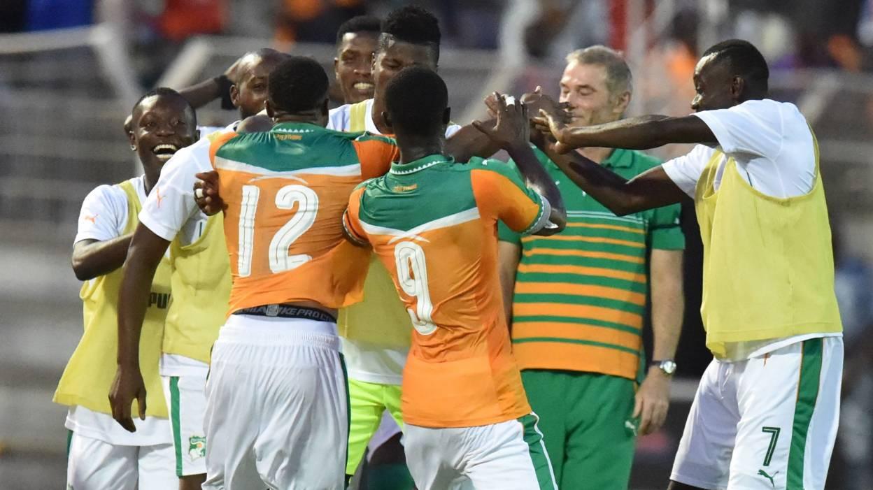 La Côte d'Ivoire qualifiée dans la douleur à la CAN 2017
