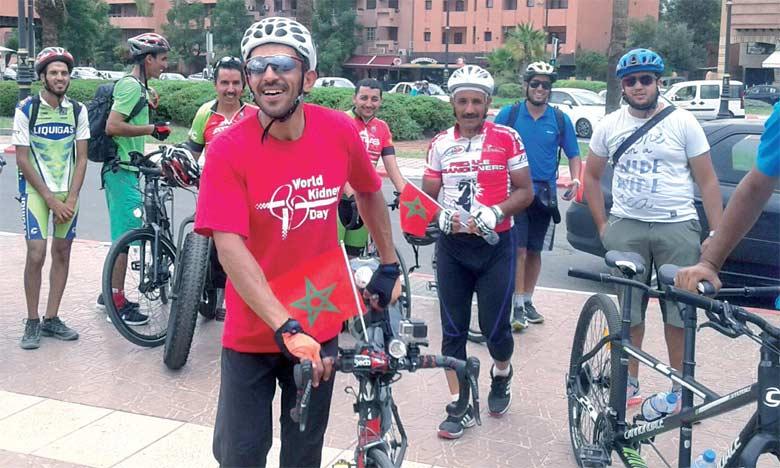 Le globe-trotter Mohamed Amine Moustanjidi fait escale au CHU Mohammed VI de Marrakech