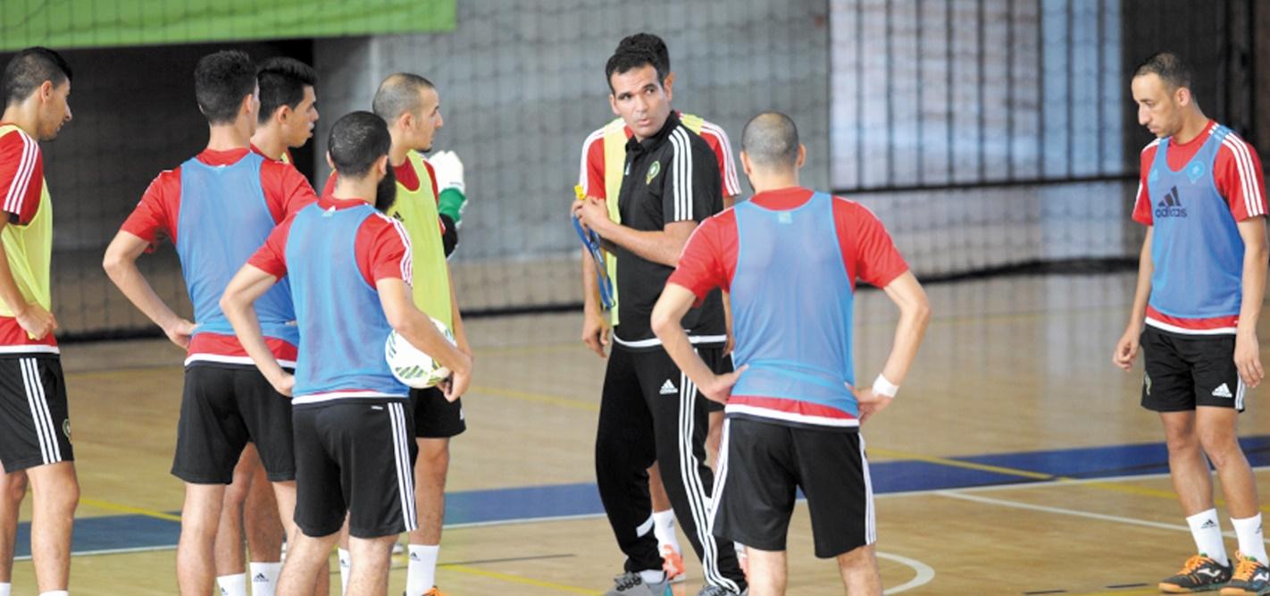Le Cinq national fin prêt pour le Mondial de futsal