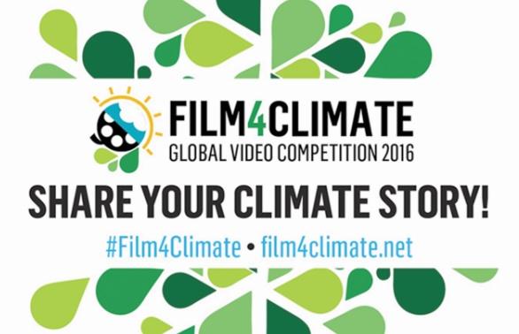 Un concours mondial de vidéos pour sensibiliser l'opinion au changement climatique
