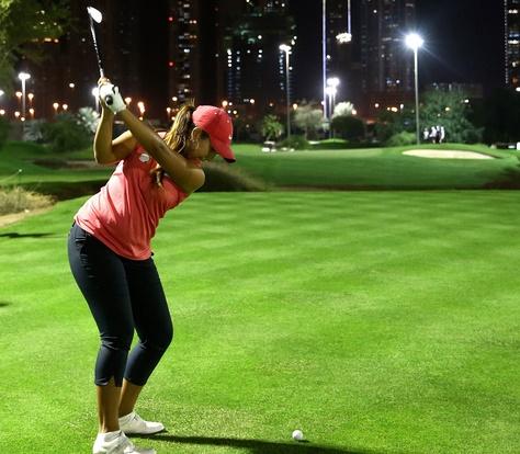 Maha Haddioui s'en tire à bon compte à l'ISPS Handa Ladies European Masters de golf