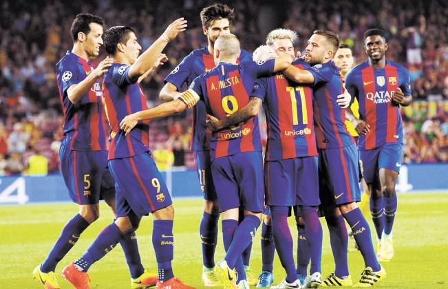 Le Barça et Bayern cartonnent d'entrée en Ligue des champions