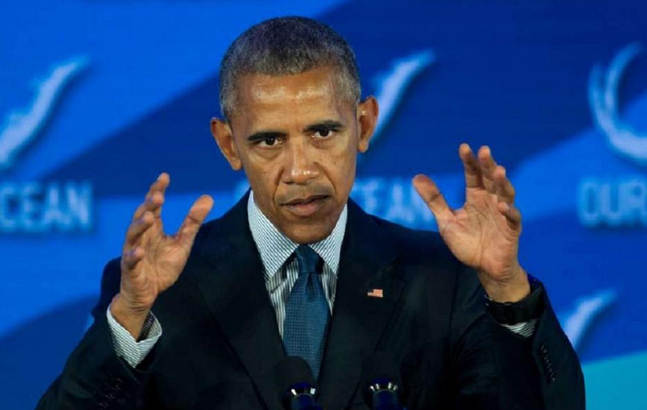 "Barak Obama: ""Nous demandons trop à l'océan"""