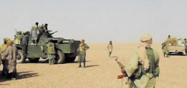 Une bande armée tire sur des camions marocains dans le désert malien
