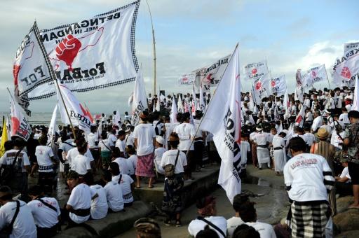 Levée de boucliers contre un méga-projet d'îles artificielles à Bali