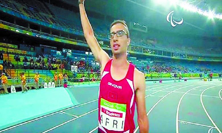 Du bronze pour Mahdi Afri aux Jeux paralympiques de Rio