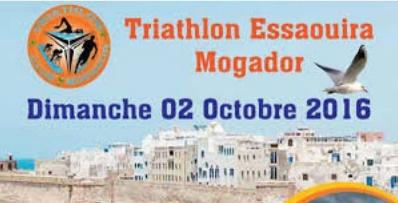 La 1ère édition du Triathlon Essaouira-Mogador
