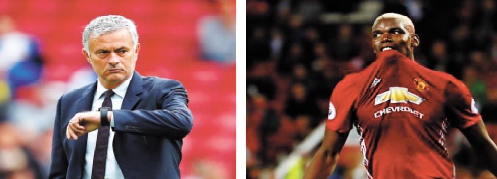 Mourinho et Pogba déjà dans la tourmente