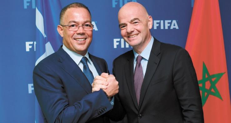 Gianni Infantino : Le Maroc est en mesure d'organiser les plus grands événements de football à l'avenir