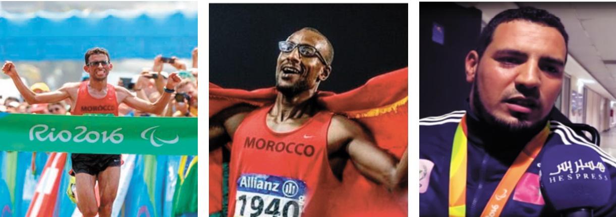 S.M le Roi félicite les champions paralympiques