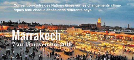 """Rencontre à Casablanca sur """"La COP22, enjeux et défis"""""""
