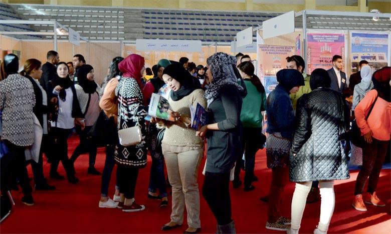 Salon d'inscription aux études universitaires et professionnelles à Rabat