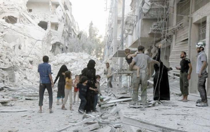 A Alep sous des bombardements intensifs, les pénuries s'aggravent