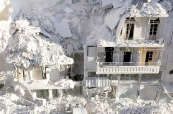 Mettant à profit les bombardements, l'armée syrienne avance dans Alep