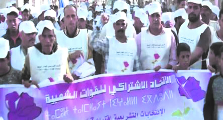Les candidats ittihadis chaleureusement accueillis à Dakhla