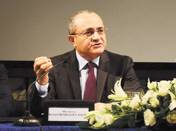 Brahim Benjelloun Touimi, administrateur directeur général exécutif de BMCE Bank of Africa