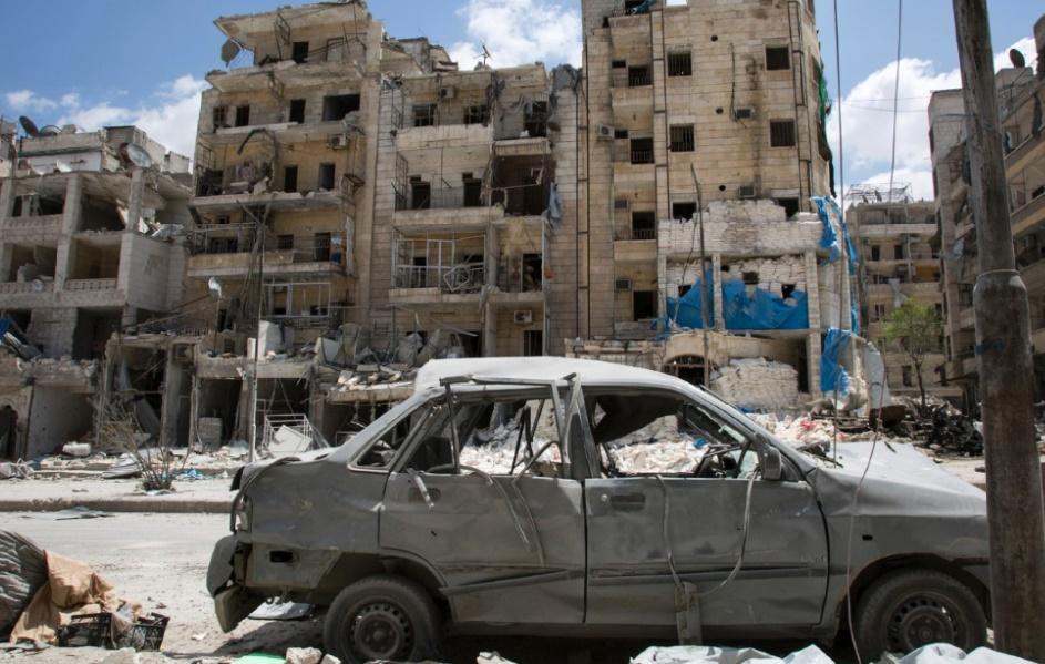 La partie Est d'Alep risque d'être totalement détruite