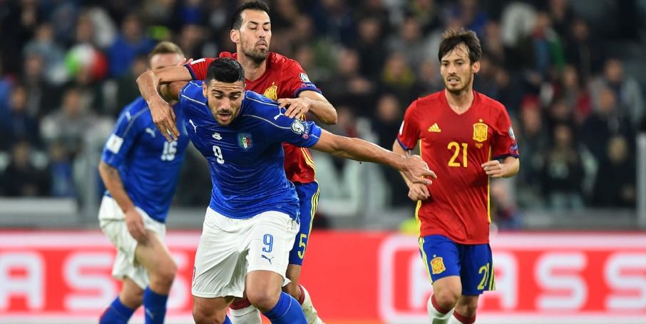 Eliminatoires du Mondial 2018 : Le choc Italie-Espagne accouche d'un nul