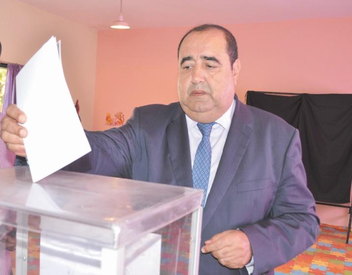 Driss Lachguar accomplit son devoir citoyen