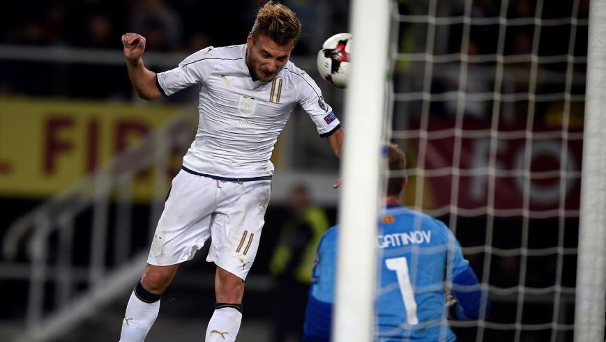 Eliminatoires du Mondial 2018 : Victoire à l'arraché de l'Italie en Macédoine
