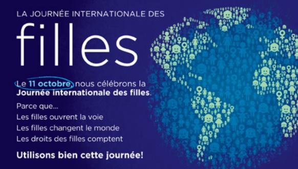 Célébration aujourd'hui de la Journée internationale de la fille