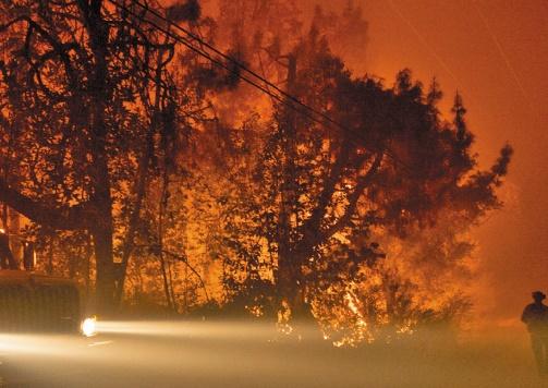 Le changement climatique a doublé les superficies brûlées dans l'ouest des Etats-Unis
