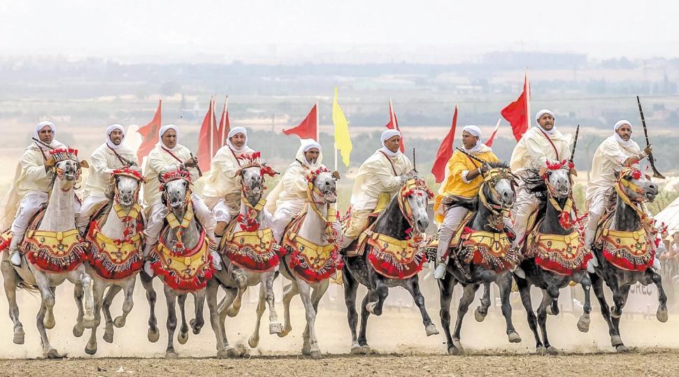 Le Grand Prix S.M le Roi Mohammed VI met la Tbourida à l'honneur