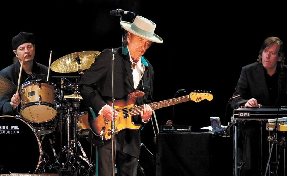 Bob Dylan Icône de la musique américaine, prix Nobel de littérature