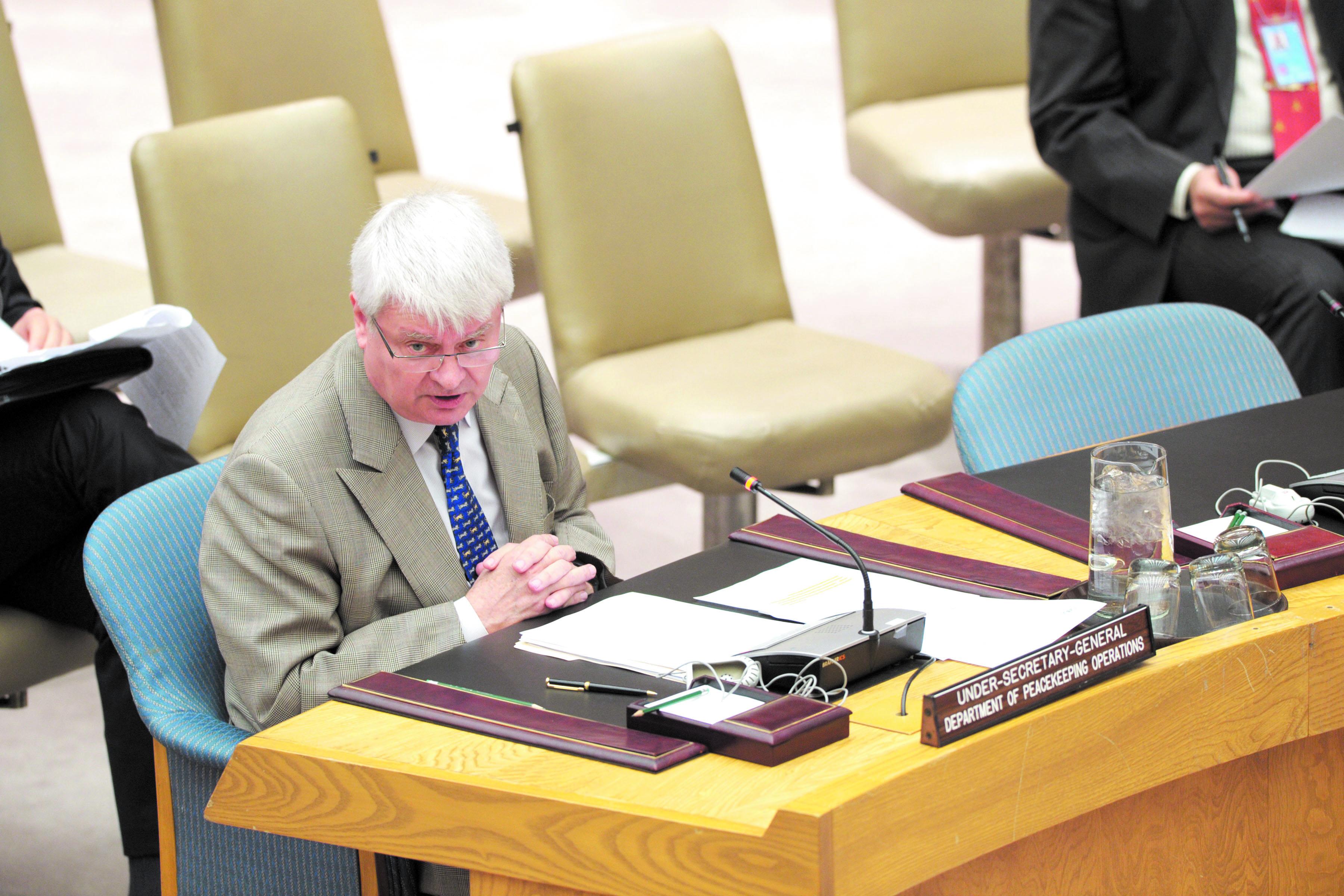 Prochaine visite d'un haut responsable de l'ONU