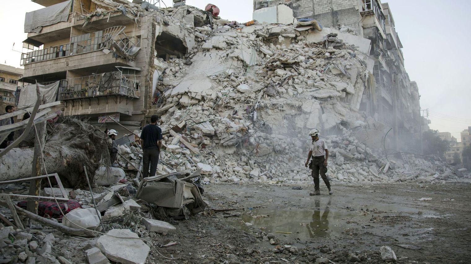 L'UE envisage des sanctions contre les soutiens du régime  syrien sans exclure la Russie