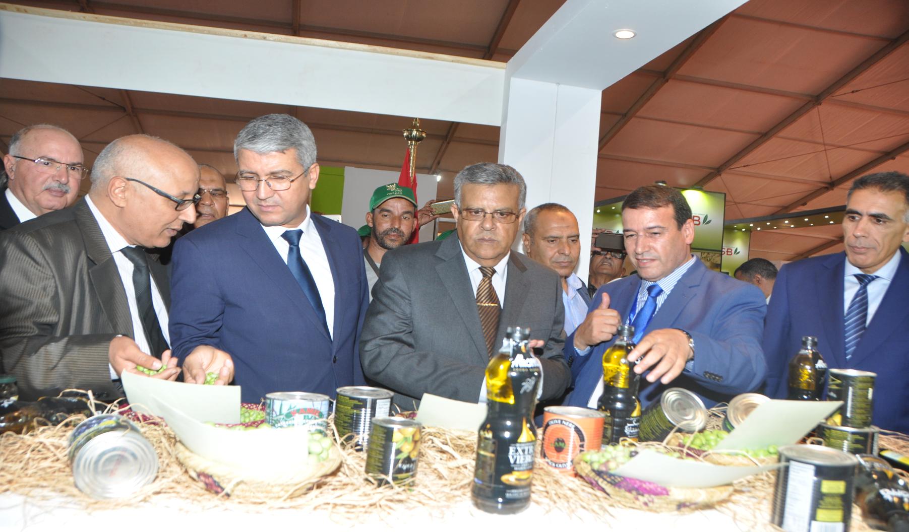 Ouverture de la 3ème édition du Salon national de l'olivier à El Kelaa des Sraghna