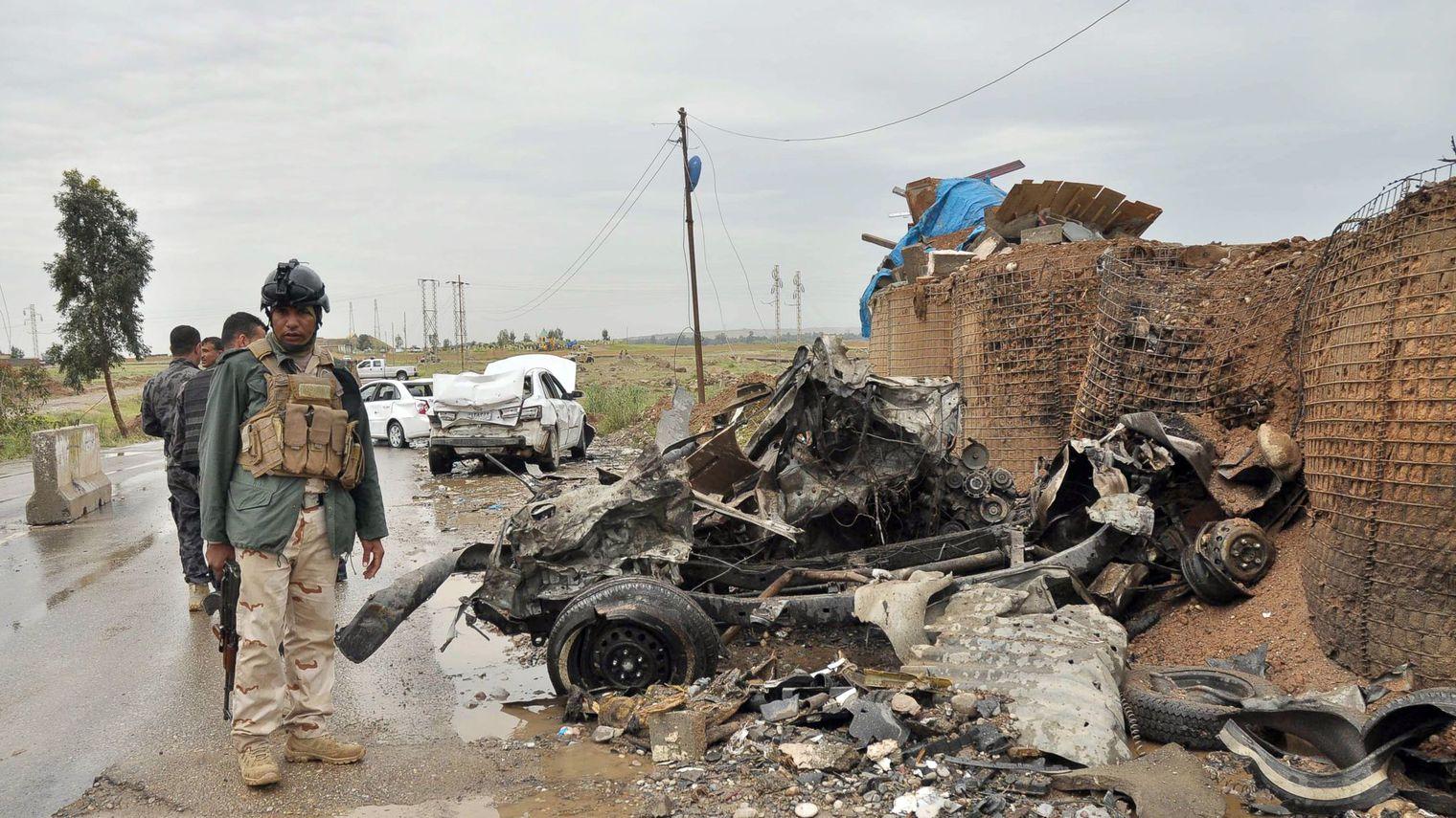 Plusieurs attentats suicide dans le nord de l'Irak