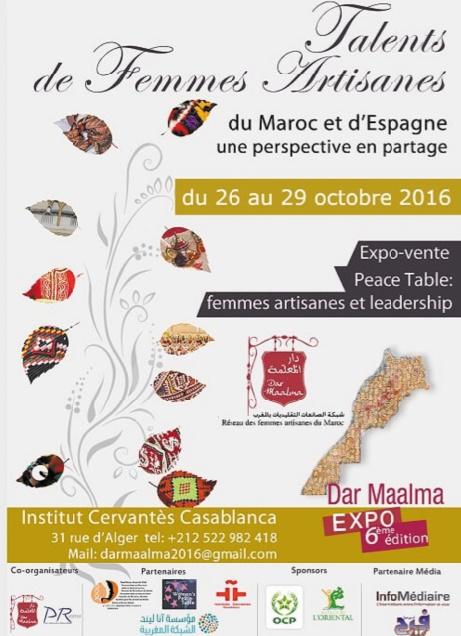 Talents des femmes artisanes du Maroc et d'Espagne