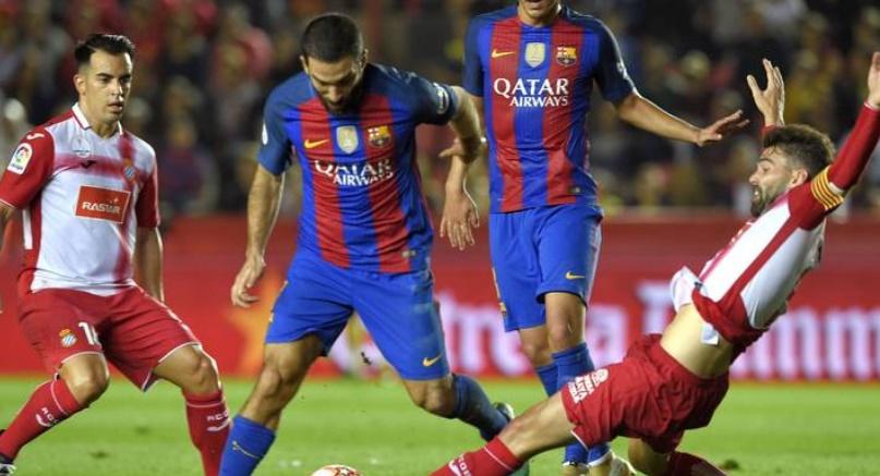 Le Barça s'incline contre l'Espanyol